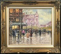 "Original Art: Oil Painting by Peter Bunell titled ""Late Fall in Paris"" 20"" x 24"""
