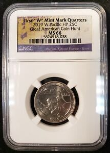 2019-W War in the Pacific National Park Quarter NGC MS 66