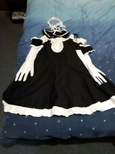 """""""He Is My Master"""" Japanese, Anime, Maid Outfit Cosplay, size 12-14"""