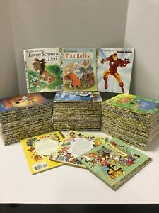Lot of 20 Random Little Golden Books Disney, Christian, Modern & Vintage
