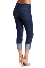 NWT JOE'S Womens Skinny Ankle Cuff Mid-Rise Crop Jeans Size 29 EDA Wash JOES NEW