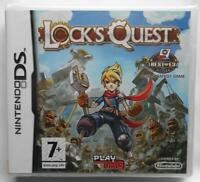 LOCK'S QUEST BEST STRATEGY GAME NINTENDO DS NUOVO