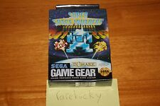 Super Space Invaders (Sega Game Gear) NEW SEALED, EXCELLENT, Super RARE