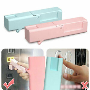 Portable Self-sterilizing No Touch Door Opener Avoid Germs - Button Push Safety