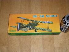 WW#1, BRITISH, S.E. - 5A SCOUT, BIPLANE FIGHTER, Plastic Model Kit, Scale 1:50