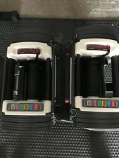 Powerblock Sport 9.0 dumbbells, excellent condition.