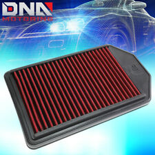 FOR 2007-2009 HONDA CR-V 2.4L RED WASHABLE HIGH FLOW DROP IN AIR FILTER PANEL