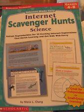 TEACHERS: Internet Scavenger Hunts: SCIENCE
