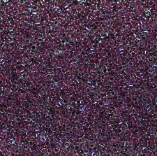 Delica Beads von Miyuki raspberry lined crystal AB DB0056 5 gr