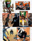 BATMAN MASTER OF THE FUTURE Pg #25 HAND COLORED PRINT GUIDE Barreto, Steve Oliff