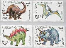 SOMALIA 1993 480-83 Fauna Dinosaurier Dinosaurs prähistorische Tiere MNH
