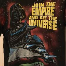Vintage Star Wars Darth Vader Tee T Shirt Size Large Black Made In USA Very Rare