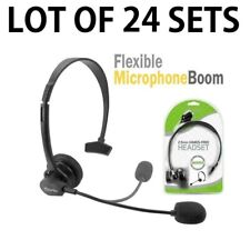 24x Cellet 2.5mm Hands-Free Headset with Boom Mic for Home Office Cordless Phone