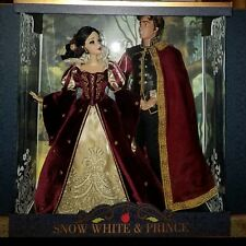 DISNEY SNOW WHITE & PRINCE DOLL PLATINUM SET LE OF 650 (IN HAND - READY TO SHIP)