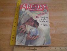 1928 ARGOSY V. 200 All-Story Weekly horror Science Fiction pulp