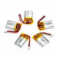 5PCS 3.7V 100mAh 20C LiPo Battery PH1.25 plug for RC Mini Drone Mirco Helicopter