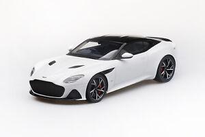 Aston Martin DBS Supperleggera white (weiss) 2018 - 1:18 - Top Speed