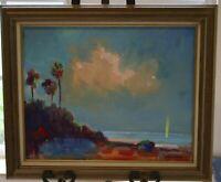 Original The Highwaymen Style Oil Painting by Florida Artist Jonas Clark