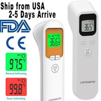 Digital LCD Infrared Thermometer Non-contact Forehead Baby/Adult Temperature Gun