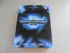 WWE - Westlemania 23 Collectors Steel Tin ( DVD 3 disc, 2008 ) donald trump