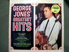 GEORGE JONES GREATEST HITS IMPORT GERMANY 1978 RECORD INTERCORD INT 128.634