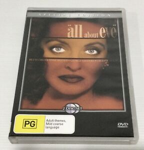 All About Eve Special Edition 2 Disc DVD Region 4