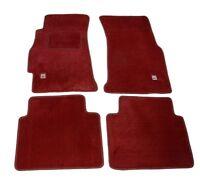 Carpet Set Floor Mats 4 Pc Red Type-r  for LHD 96-00 Honda Civic Ek9  (92-95 EG)