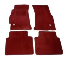 Ek9 Red Type-r Carpet Set Floor Mats 4 Pc for LHD 96-00 Honda Civic  (92-95 EG)