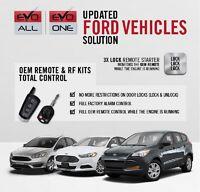 Fortin Plug & Play T-Harness Remote Start Car Start System 2011-2014 Ford F-150