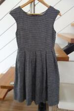 Cotton/Polyester Dresses for Women with Pleated