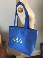 SORORITY TRI DELTA Tote BAG Shoulder Handbag Insulated Purse Tri Delt Handbag