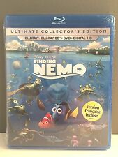 Finding Nemo (Blu-ray/DVD, 5-Disc Set, Includes Digital Copy 3D/2D)