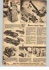 1955 PAPER AD Ideal Toy Robert the Robot RC Jaguar