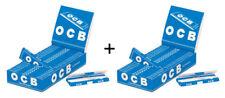 2x OCB BLU 50 Blatt/25er ( DEPLIANT, Carta, Carta)