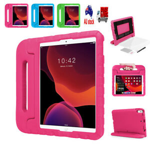 """Kids Shockproof Armor Foam Case Stand Handle Cover For iPad 7th Gen 10.2"""" 2019"""