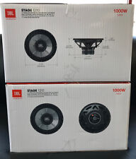 "2 JBL STAGE 1210 1PR. 12"" Single 4 OHM SUBWOOFERS 12-INCH WOOFERS 2000 Watts MAX"