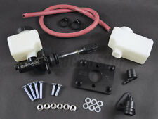Wilwood Brake Master Cylinder w/ Clevis Pin Blox Booster Delete Plate Black
