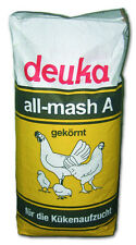 Hühnerfutter / Kükenfutter Aufzucht Deuka all mash A gekörnt 25kg