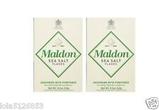Maldon Sea Salt Flakes, 8.5oz Boxes (Pack of 2) - Imported from England