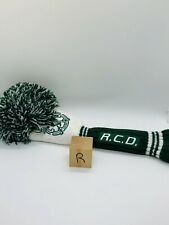 Royal County Down Golf Club Green Pom Knit Rescue Hybrid Headcover Mint Rare