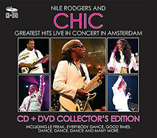 NILE RODGERS & CHIC GREATEST HITS LIVE CD & DVD NEW & SEALED THE VERY BEST OF