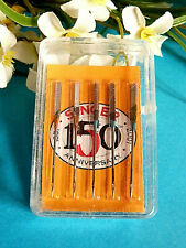 504 # Belle Box Machine Ink Needles for Singer Sewing N°80 / New 11 Wooden