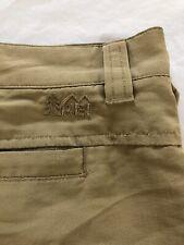 REI Nylon Cargo Shorts Khaki Men's Size 36 Hiking Camping