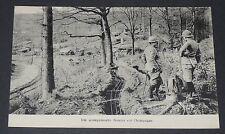 CPA CARTE POSTALE GUERRE 1914-1918 POSITION FRANCAISE EN CHAMPAGNE TRANCHEES
