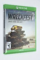 Microsoft Xbox One WRECKFEST -- PLAY TESTED SHIPS SAME DAY FAST