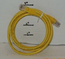 6 FT Ethernet Cable Lan Computer Network CAT5 RJ45 Internet Yellow Patch Cord