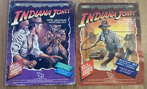 1985 TSR The Adventures of INDIANA JONES IJ5 IJACNepal Nightmare Judges Survival
