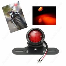 Round Motorcycle  Stop Tail Rear Brake Light For Harley Cafe Racer Bobber FB