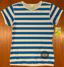NWT NEW! Castaways GIRLS Striped Top Size Large with Tags Shirt Tee SUPER CUTE!!