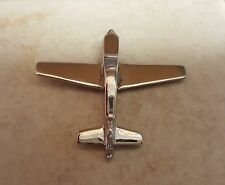 Stainless Steel Low Wing Airplane Aircraft Pendant or Charm for Necklace
